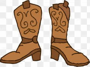 Cowboy Accessories Cliparts - Cowboy Boot Cowboy Hat Clip Art PNG