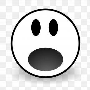 Afraid Face Cliparts - Smiley Face Surprise Clip Art PNG