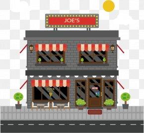 Flat Floor Restaurant Design Vector Material - Flat Design Euclidean Vector PNG