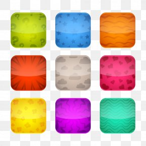 Vector Elements Decorative Pattern Button Icons Ui Small Buttons - Social Media Flat Design Icon PNG