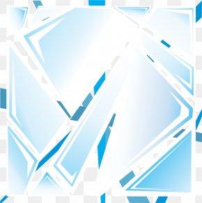 Vector Hand-painted Broken Glass Effect - Glass Euclidean Vector Graphic Design PNG