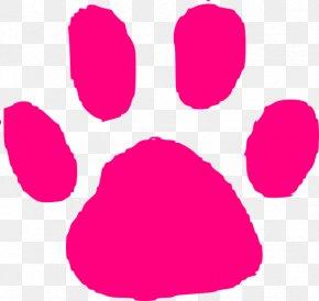 Cat Paw Print Image - Animal Track Footprint Paw Clip Art PNG