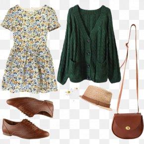 Vintage Floral Dress - Clothing Fashion Dress Polyvore Spring PNG