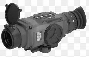 Image-stabilized Binoculars - Monocular Thermal Weapon Sight Telescopic Sight American Technologies Network Corporation Optics PNG