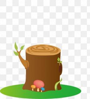 Tree Stump - Cartoon Tree Stump Clip Art PNG