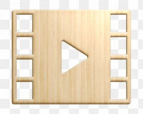 Rectangle Wood - Essential Compilation Icon Video Player Icon Movie Icon PNG