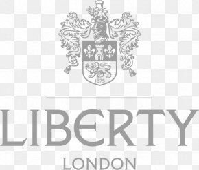 London Logo - Liberty Retail Department Store Regent Street Textile PNG
