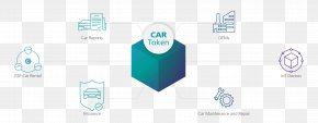 Car - Connected Car Blockchain Automotive Industry Cryptocurrency PNG