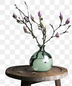 Retro Vase - Vase Branch Flower Blossom Jug PNG