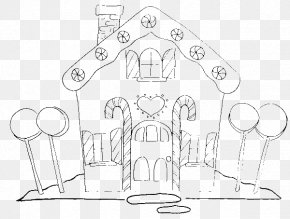 Cute Candy Corn Coloring Pages - Gingerbread House Candy Cane Lollipop Candy Corn Christmas Coloring Pages PNG