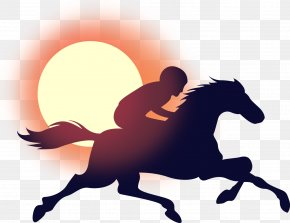 Rider - Bower Place Location Logo Horse Racing PNG