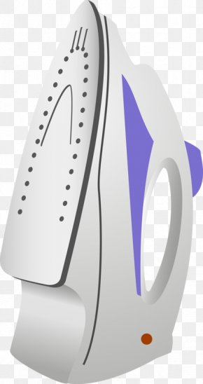 An Iron - Clothes Iron Ironing Small Appliance PNG