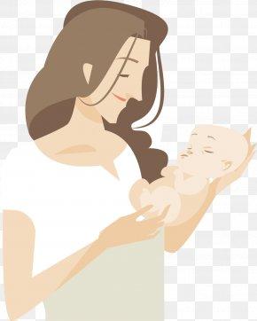 Mother Has Children - Mother Infant Illustration PNG