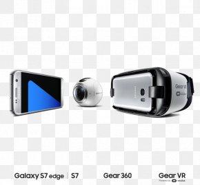 Samsung-gear - Samsung Gear VR Samsung Galaxy S7 Samsung Galaxy S6 Virtual Reality PNG