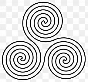 Spiral - Spiral Triskelion Celtic Knot Celts Clip Art PNG