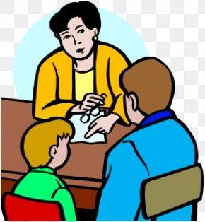 Teacher Communication Cliparts - Student Parent-teacher Conference Clip Art PNG