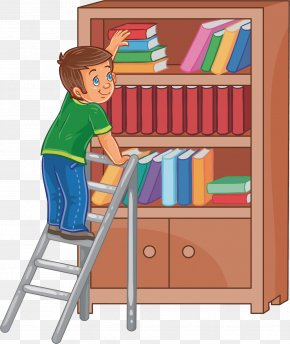 Looking For Books - Book Royalty-free Illustration PNG