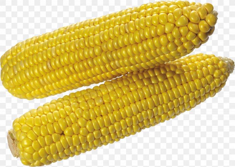 Corn On The Cob Maize Clip Art, PNG, 3505x2498px, Corn On The Cob, Commodity, Corn Kernels, Corn Stover, Dent Corn Download Free