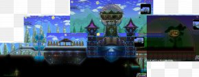 Dream Castle - Terraria Minecraft Video Game Chrono Trigger DOOM PNG