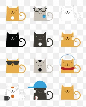 Cute Cat - Cats Kitten Drawing Illustration PNG