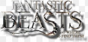 Fantastic Beasts - Logo Metal Brand Font PNG