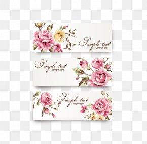 Wedding Invitations - Rose Flower Euclidean Vector PNG