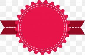 Cartoon Red Card - Badge Lanyard Logo Ribbon Name Tag PNG