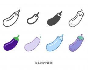 Eggplant - Download Font PNG