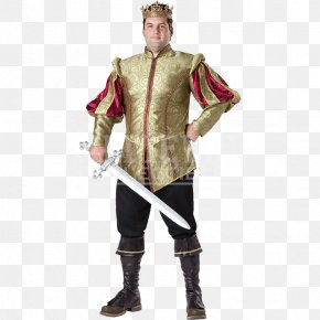 COSTUME Man - Halloween Costume Middle Ages English Medieval Clothing PNG
