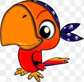 Parrot Cliparts - Pirate Parrot Piracy Clip Art PNG