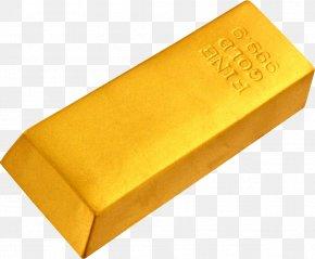 Gold - Gold Bar Gold Nugget Ingot PNG