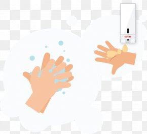 Washing Hands Clipart - Gratis Hand Model Product Sample Thumb Lotion PNG