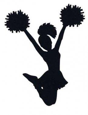 Cheer - Cheerleading Silhouette Sport Clip Art PNG