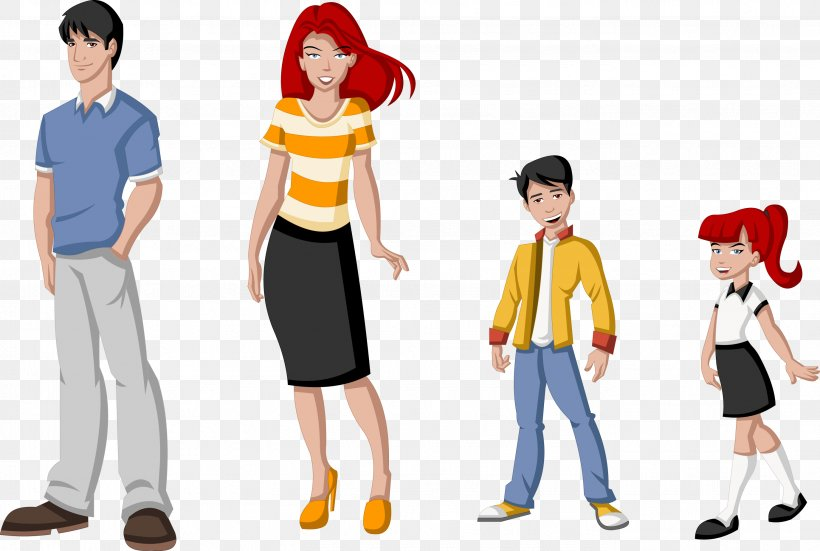 Family Cartoon Child Canvas Print Png 2751x1849px Family Animated Film Boy Canvas Canvas Print Download Free