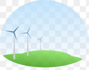 Wind - Wind Farm Wind Power Wind Turbine Renewable Energy PNG