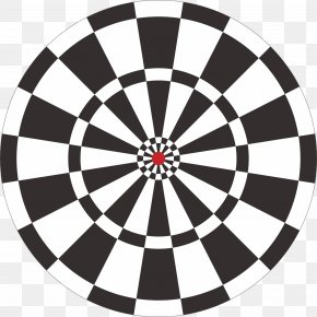 Arrow Target Shooting Target Ring Free To Pull The Picture - Darts Shooting Target Arrow Target Archery PNG
