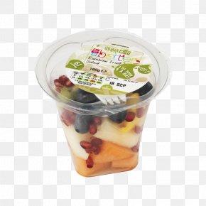 Fruit Salad - Food Flavor Plastic Frozen Dessert Lid PNG