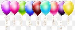 Transparent Balloons Clipart Image - Balloon Clip Art PNG