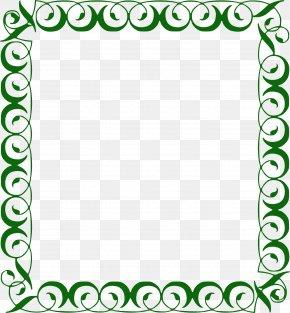 Border Frame - Infant Boy Clip Art PNG