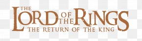 Lord Of The Rings - The Lord Of The Rings Logo One Ring PNG