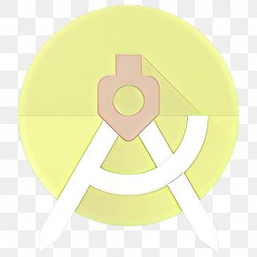 Sticker Logo - Yellow Circle Symbol Logo Sticker PNG