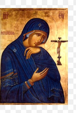 Mary - Mary Feodorovskaya Icon Of The Mother Of God Theotokos Eastern Orthodox Church Icon PNG