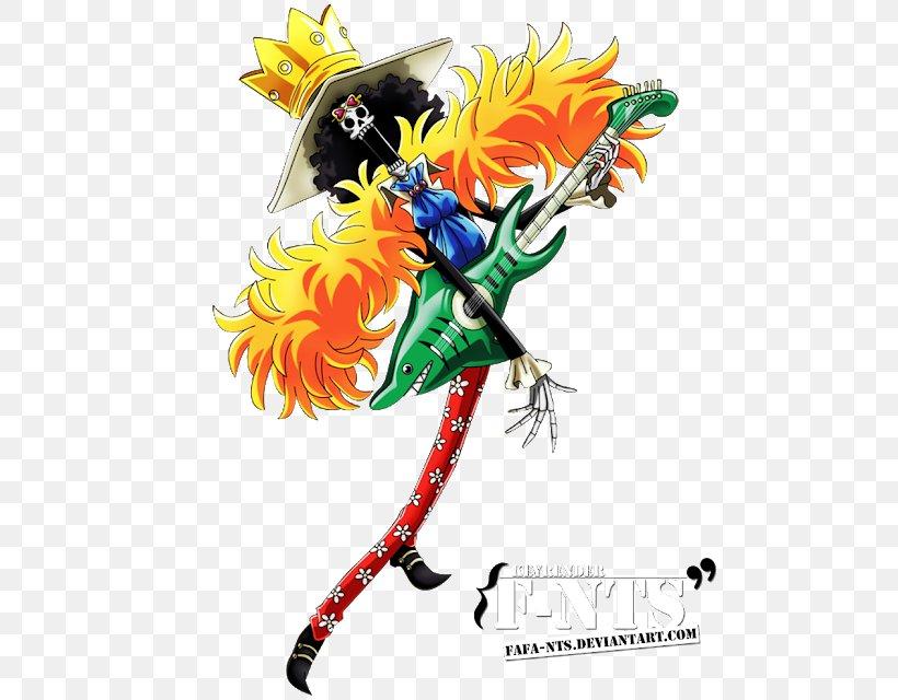 Brook Roronoa Zoro Monkey D. Luffy Vinsmoke Sanji Nami, PNG, 525x640px, Brook, Art, Fictional Character, Monkey D Luffy, Nami Download Free