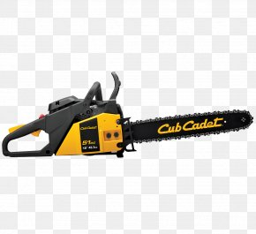 Chainsaw - Cub Cadet String Trimmer Lawn Mowers Edger PNG