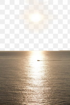 The Sun Rises On The Sea PNG