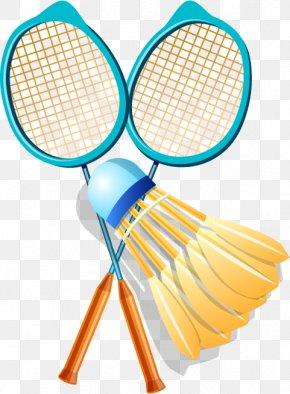 Badminton - Badmintonracket Badmintonracket Shuttlecock PNG
