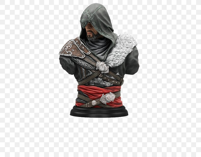 Assassin's Creed: Revelations Assassin's Creed: Brotherhood Assassin's Creed III Ezio Auditore, PNG, 415x640px, Ezio Auditore, Assassins, Figurine, Masyaf, Outerwear Download Free
