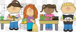Jobs Needed Cliparts - Classroom Cleaner Cleaning Clip Art PNG