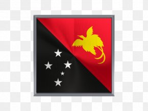 Metal Square - Flag Of Papua New Guinea National Flag Flags Of The World PNG