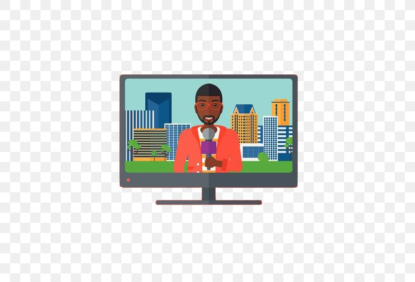 Television Show Broadcasting Clip Art, PNG, 600x557px, Television, Area, Broadcast Television Systems, Broadcasting, Journalist Download Free